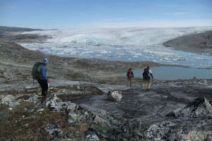 Northwest Passage cruise -hiking
