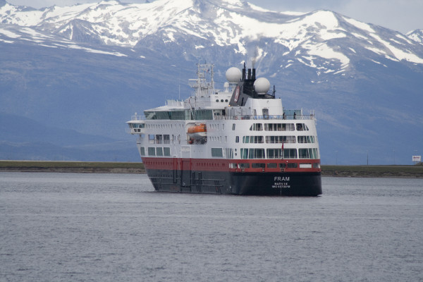 Northwest Passage cruise - the fram