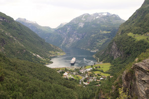 Norway cruise highlights - Geiranger