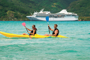 South America cruise activites - kayaking