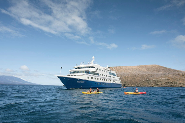 South America cruise itinerary - Galapagos