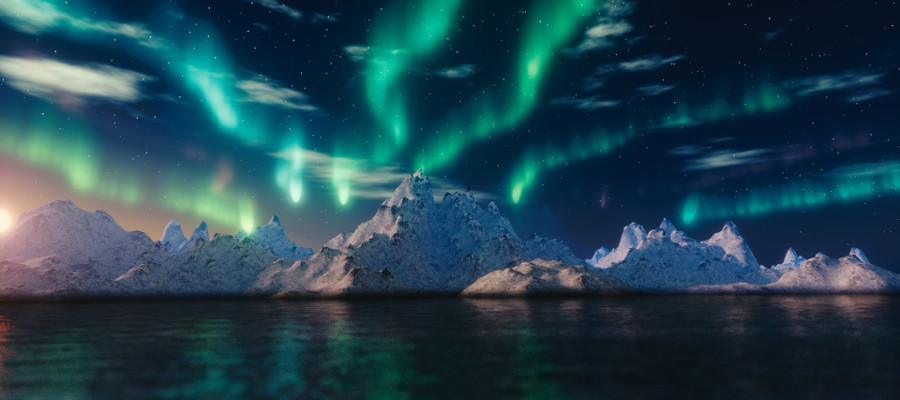 arctic photography exposure