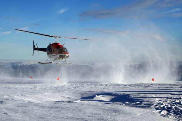 things to do on a Greenland cruise - helicopter