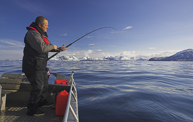 things to do on a Norway cruise -fishing