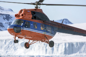 things to do on a north pole cruise - helicopter