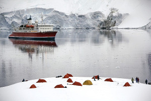 things to do on an Arctic cruise - camping