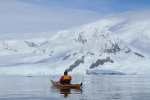 things to do on a a Russian Arctic cruise - kayak