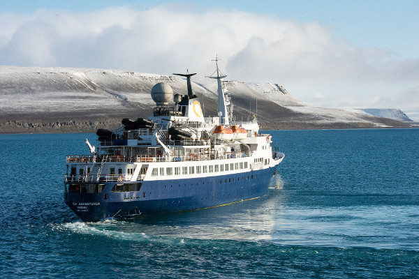 types of Canadian Arctic cruise ships