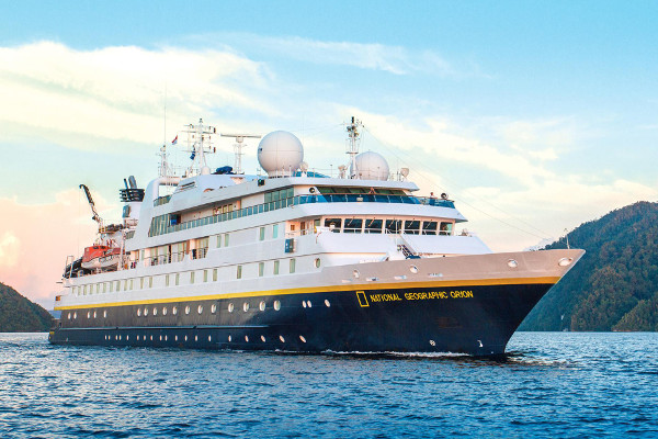 types of South America cruise ships