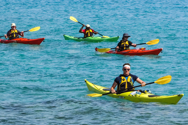 Easter Island cruise activites - kayaking