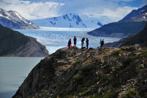 Patagonia cruise activites - hiking