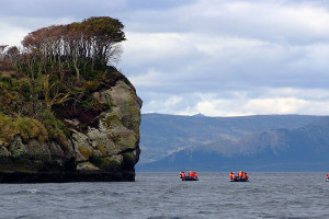 Patagonia cruise highlights - tuckers islets