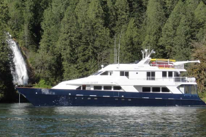 Types of Glacier Bay ships - motor yacht