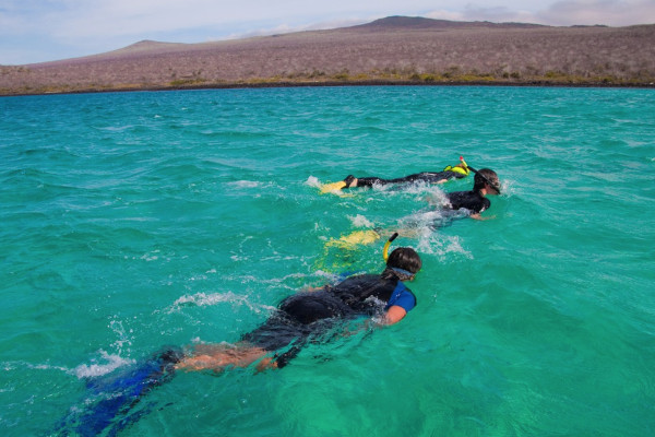 best Galapagos cruise for snorkelling