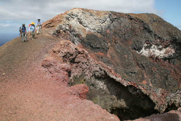 Best things to do in the Galapagos - Sierra Negra Volcano