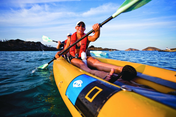 Best things to do in the Galapagos - kayaking