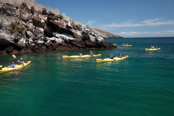 Kayaking in the Galapagos -1
