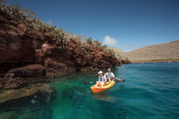 Kayaking in the Galapagos -2