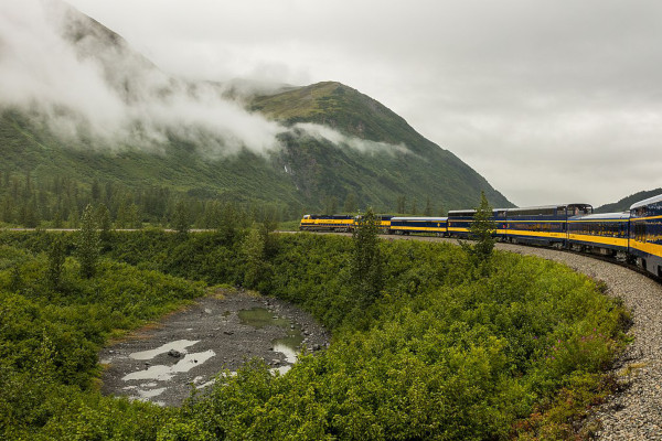 Alaska Cruise With Train - Anchorage