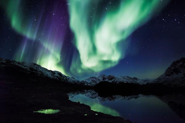 Alaska cruise with Northern lights 1