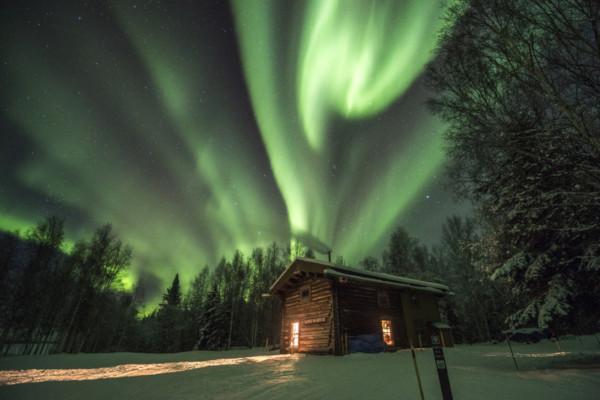Alaska cruise with Northern lights 2