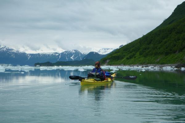 kayaking in Alaska 1
