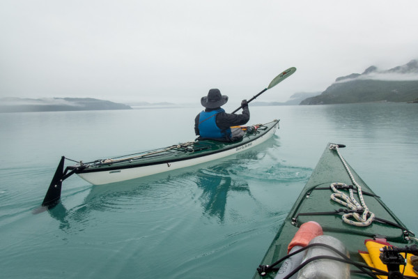 kayaking in Alaska 2