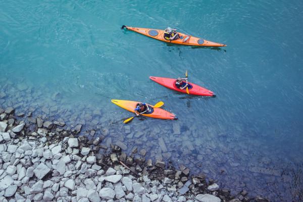 kayaking in Alaska 3