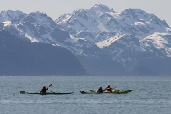 kayaking in Alaska 4