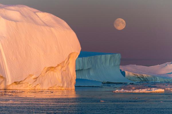 Disko Bay Greenland