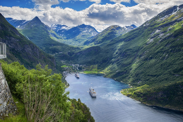 Norwegian fjords cruise cost