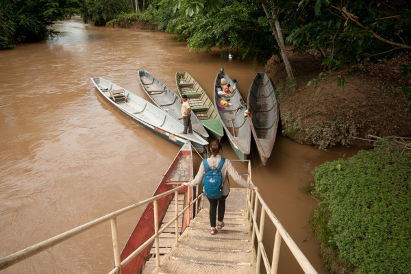 Yasuni National Park - canoeing